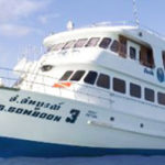 Liveaboard Somboon 3 at Similan island Thailand