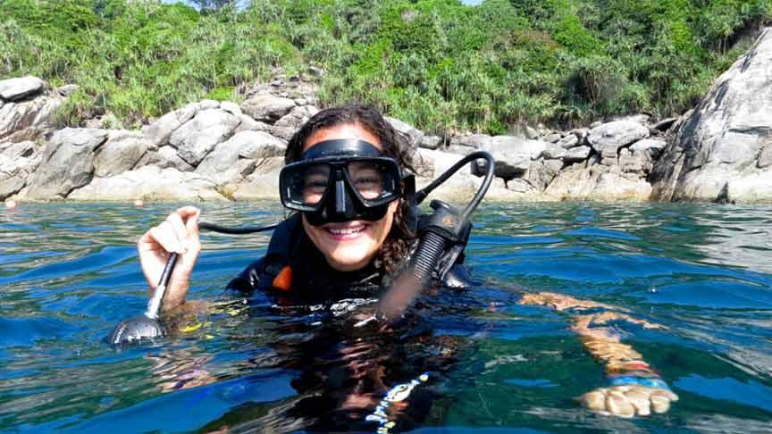 Cours plongée open water Phuket Rawai