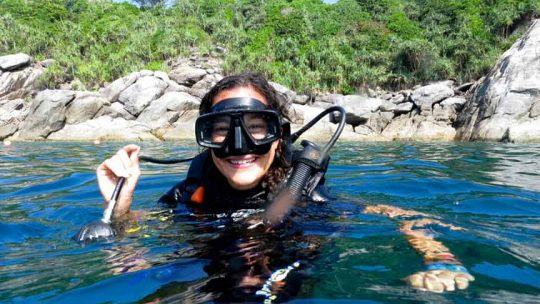 Diving course open water phuket rawai
