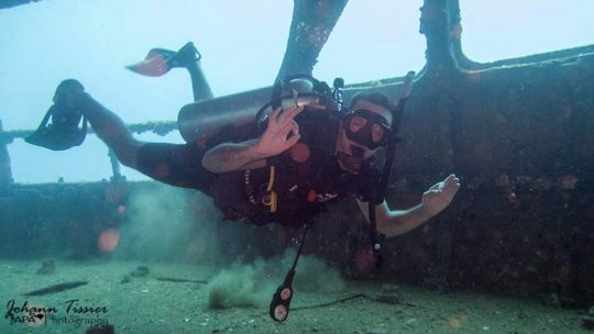 Wreck dive Advanced course Phuket