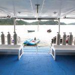Diving deck