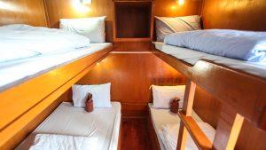 Quad share cabin