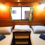 Twin share cabin