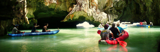 phang nga tour sea canoe